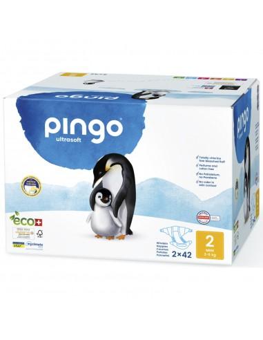Pañales Ecológicos Pingo Talla 2 Mini...