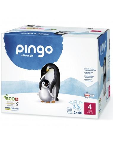 C-Pañales Ecológicos Pingo Talla 4...