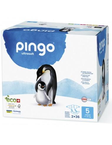 C-Pañales Ecológicos Pingo Talla 5...