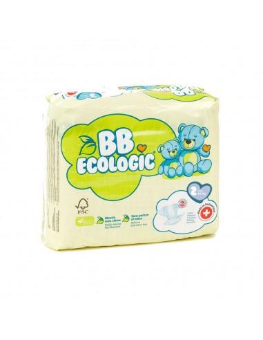 Pañales ecológicos BBECOLOGIC Talla 2...