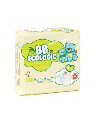 Pañales ecológicos BBECOLOGIC Talla 4...