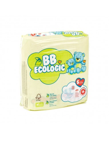 Pañales ecológicos BBECOLOGIC Talla 5...